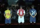 El Arsenal presenta su nueva equipación