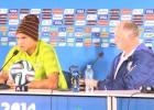 Van Gaal, Scolari y Thiago Silva buscan el tercer puesto