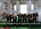El baile de gaucho o cómo mofarse de Argentina