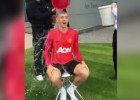 Fletcher nomina a Cristiano a darse un baño de agua fría