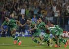 El Ludogorets sella el milagro con un defensa de portero