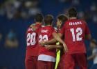 Bacca e Iborra lideran la victoria del Sevilla en Cornellá