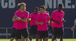 El Barça ya trabaja con Rakitic, Neymar y Rafinha