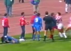Cuando el masajista del Atleti fue agredido por el Olympiacos