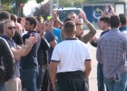 Los Ultras Sur intentaron acceder a la Asamblea sin éxito