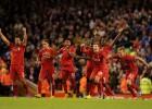Treinta penaltis llevan al Liverpool a la siguiente fase