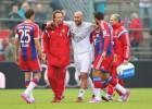 Reina se retira lesionado en un partido amistoso del Bayern