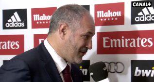 """Zubizarreta: """"Pudimos ganar el partido en la jugada de Messi"""""""