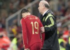 Callejón y Morata debutan ante Bielorrusia con la Roja