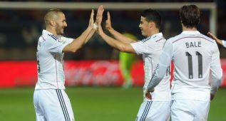Con Isco, Bale, James, Cristiano, Benzema.... todo es más fácil