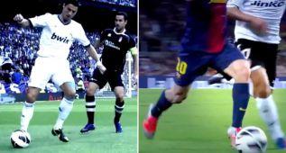 Los regates más brillantes de Messi y Cristiano Ronaldo