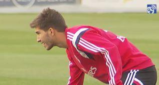Lucas Silva ya se entrenó con sus nuevos compañeros