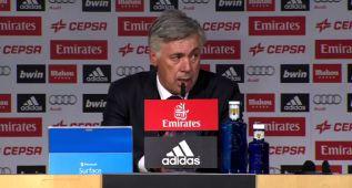 """Ancelotti: """"De Bale no quiero más. Ha estado perfecto"""""""