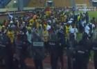 El Ghana-Guinea, parado 40' por lanzamiento de botellas