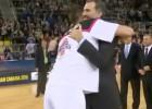 Felipe Reyes pasó del protocolo: abrazo con el Rey
