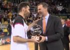 Rudy Fernández nombrado MVP de la Copa del Rey
