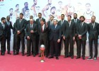 El Madrid celebra la Copa del Rey con los madrileños