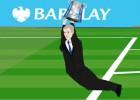 La versión animada de la loca celebración de Mourinho