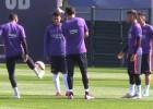 ¿Clases de samba, de free-style o entrenamiento del Barça?