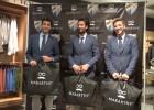 Los jugadores del Málaga se meten a modelos por un día