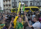 El enorme recibimiento de Jaén a sus vencedores
