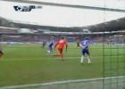 Espectacular triple parada de Courtois para salvar al Chelsea