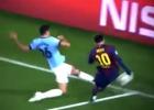 El 'pisotón' de Demichelis que lesionó a Leo Messi