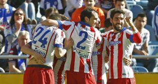 Vean todos los goles del Deportivo-Atlético de Madrid