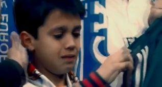 El hermoso gesto de Cristiano Ronaldo con un niño