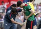 Lesión de Iraola que podría perderse la final de Copa