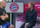 Pepe Reina tiene gracia hasta para hablar en alemán