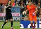 Duelo descomunal en las porterías: Buffon vs Casillas