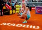 Kvitova bate a Kuznetsova y gana de nuevo en Madrid