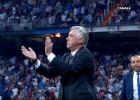 Así fue el polémico aplauso de Ancelotti a Clos Gómez