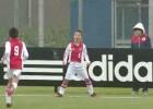 Los canteranos del Ajax cantan los goles 'a lo Cristiano'