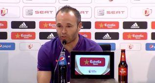 """Iniesta: """"Ganar la Copa del Rey nos ilusiona como a ninguno"""""""