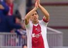 El homenaje del Ajax a Luis Suárez antes de la gran final