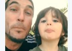 El hijo de Pinto no va para futbolista, sino para músico