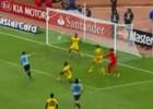 ¡Stuani falló el gol dentro del área y sin arquero!