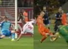 Casillas ante Bielorrusia: parada clavada a la de Robben