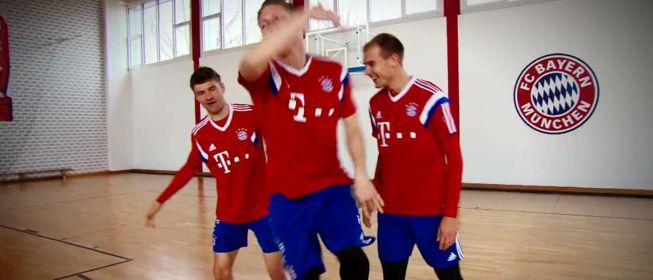 Los divertidos 'pasos de baile' de los jugadores del Bayern