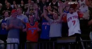 Los seguidores de los Knicks abuchearon a Porzingis