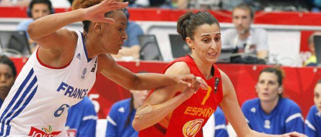 Francia 63-58 España