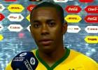 Brasil 1 x 1: Sólo Robinho se salvó en un partido débil
