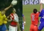 Thiago lo volvió a hacer: penalti absurdo ante Paraguay