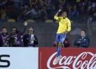 Robinho fue el mejor de Brasil: empezó la jugada e hizo gol