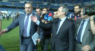 """Florentino a los periodistas: """"¿Ramos? Tomaos una copa"""""""