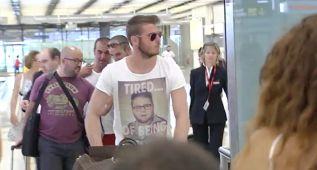 De Gea, pillado en Madrid en su llegada al aeropuerto