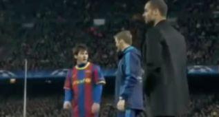 """Doblajes imposibles: """"El inglés de Messi con el cuarto árbitro"""""""