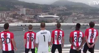 ¡Impresionante presentación de las camisetas del Athletic!